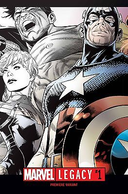 Marvel Comics #1000 1:500 Joe Quesada B /& W Wraparound Variant Cover NM