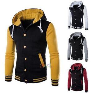 Men-Coat-Jacket-Outwear-Sweater-Winter-Slim-Hoodie-Warm-Hooded-Sweatshirt