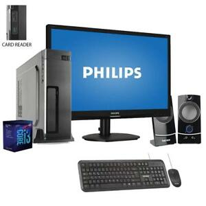 Pc-desktop-intel-i3-Ram-8Gb-Ssd-480GB-Monitor-19-Pc-Completo-Computer-windows-10