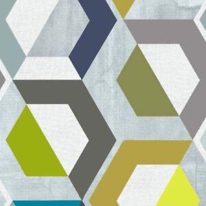 Klebefolie-Moebelfolie-Honey-Comb-bunt-geometrisch-Dekorfolie-45-cm-x-200cm-Folie