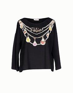 Top-T-Shirt-Donna-Maglia-BLUGIRL-FOLIES-I202-Tg-40