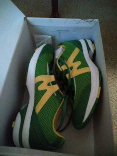 Karhu Strong  Mens Running Shoes Sneakers Green/Y… - image 1
