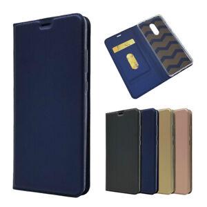Magnetique-PU-Cuir-Flip-Case-AntiChoc-Carte-Cover-Pour-Xiaomi-Redmi-5-plus