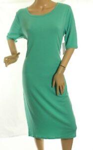 5bb6af7b567f Caricamento dell immagine in corso Lularoe-Julia-Donna-Verde-Vestito-su- Misura-Stretch-