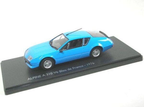 Renault alpine a 310 v 6 Bleu de France (bleu)