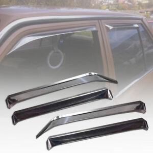 Toyota Corolla KE70 Door Window Visor Guard KE72 KE75 GL DX WEATHERSHIELDS 1 Set
