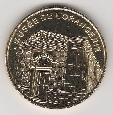 -- S/date Coin Token Jeton Rmn -- 75 001 Musee De L'orangerie Wees Onthouden In Geldzaken