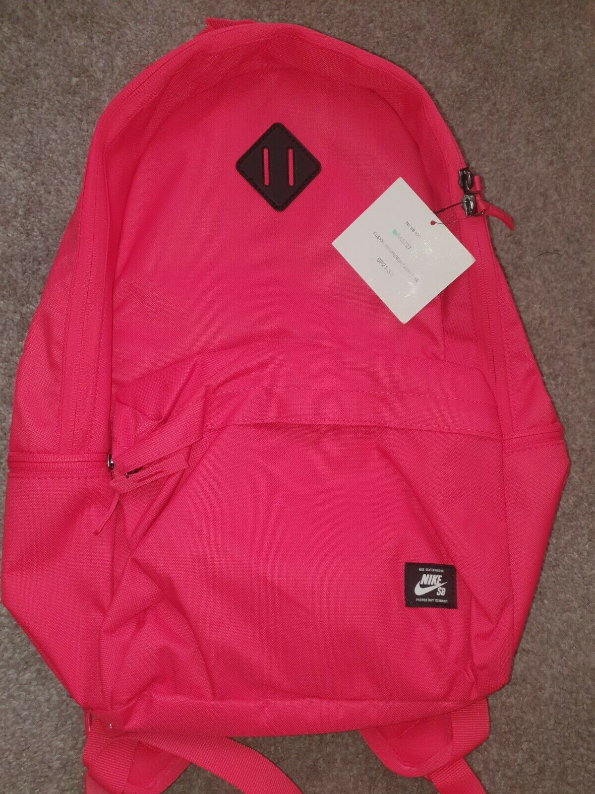 Nike SB Icon Backpack 'Fusion Red' BA5727