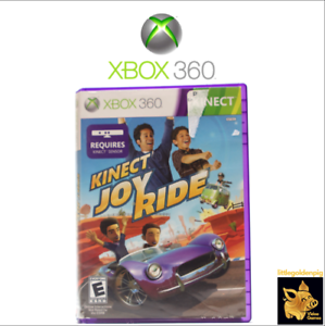 Kinect-Joy-Ride-2010-Xbox-360-Game-Case-Manual-Disc-Tested-Works-A