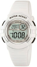 NB LNP R2383HX9 Lorus Ladies Digital Chronograph Resin Strap Watch
