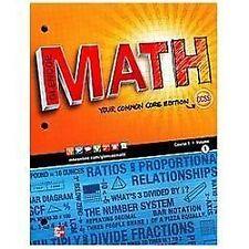 Math Applic And Conn Crse Math Course 1 Vol 1 By Mcgraw Hill