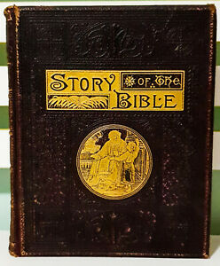 The-Story-of-the-Bible-Told-in-Simple-Language-for-the-Young-1890-HB-Book