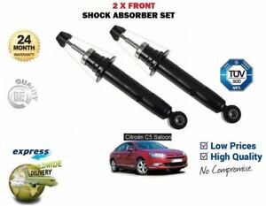 FOR CITROEN C5 BERLINA 2008 > NEW 2 X FRONT SHOCK ABSORBER SHOCKER SET