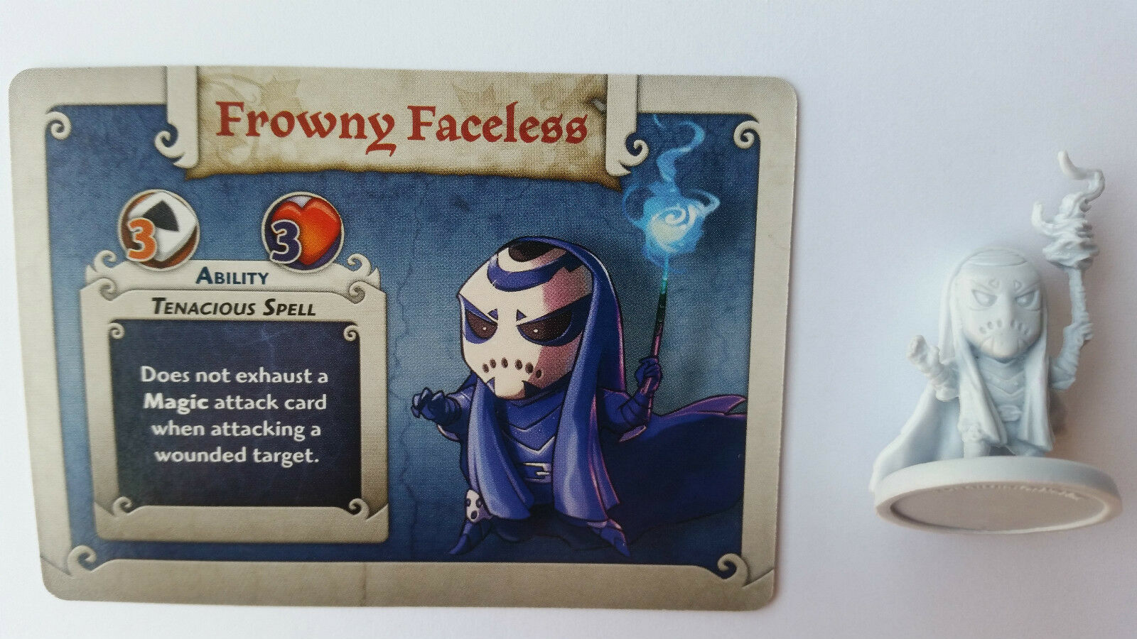 Arcadia quest promo Frowny Faceless, very difficult to get