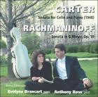 Carter: Sonata for Cello & Piano; Rachmaninoff: Sonata in G Minor, Op. 19 (CD, Dec-1995, Boston Records)