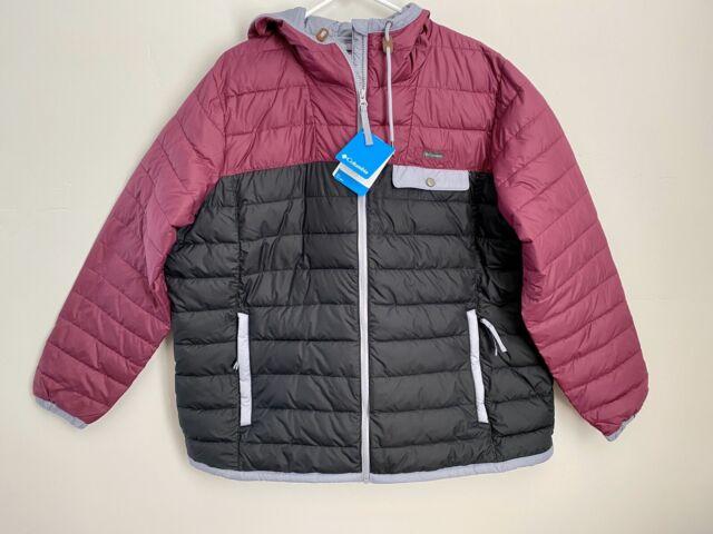 Columbia Mountainside Full Zip Jacket/Coat Womens Size 2X plus size lightweight