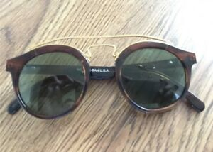 Vintage-B-amp-L-Ray-Ban-W0933-Gold-RB3-Tru-Green-Gatsby-Style-4-Sunglasses-with-case