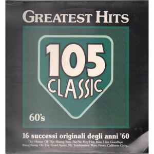 AAVV Lp Vinile Greatest Hits 105 Classic 60's EMI Italiana 64 7969001 Sigillato
