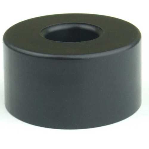 4 Gummifüße Ø 38 x 20 mm Stahleinlage Adam Hall 4909 Gerätefuß Möbelfüße Gummi