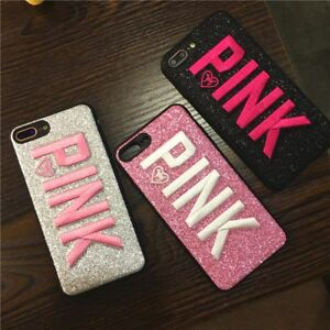 672d64d6e8d5d Details about PINK Victoria Secret Full Cover Case for iPhone 6 6S 7 8 plus  X