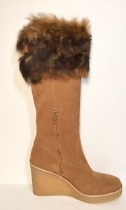 5e3a2c7d0ad Details about BRAND NEW $350 UGG AUSTRALIA VALBERG GENUINE SHEARLING WEDGE  BOOT CHESTNUT