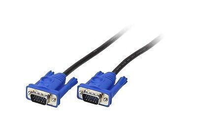 Male to Male 15-Pin VGA Cable AWM Style 20276 E118077-H