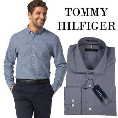 Essentials Regular Fit Wrinkle-Resistant Stretch Dress Shirt Hombre