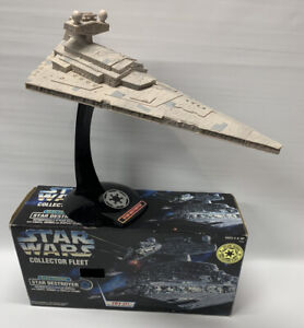 Vintage STAR WARS Kenner Electronic Collector Fleet STAR DESTROYER in Box Read