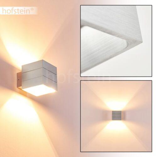 Wand Lampen Design Up Down silberfarben Flur Büro Wohn Schlaf Zimmer Beleuchtung