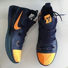 Nike Kobe Ad Black Mamba Basketball Shoes Mens Size 8 Triple Black For Sale Online Ebay