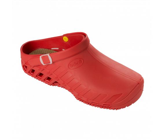 Ciabatta Dr.Scholl Clog Evo professionale colore rosso