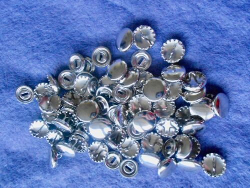 SELF COVER  BUTTONS and OPTIONAL TOOL for sizes:- 11mm 15mm 29mm. 19mm 23mm