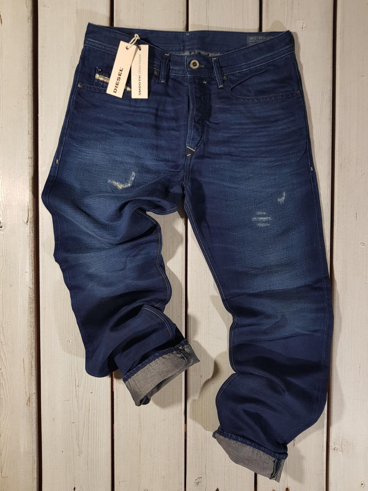 Prezzo di Vendita Consigliato Nuovo Diesel UOMO Jeans Buster Buster Buster 0665T Regular 98a013