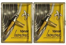 2x Tonar Banana DJ-System als Set NEU Concorde Made by Ortofon DJ Nadel