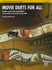 Movie Duets for All: Trombone/Baritone B.C./Bassoon/Tuba, Level 1-4 by Alfred Publishing Co., Inc. (Paperback / softback, 2010)