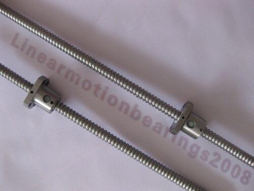 2 Anti bachlash ballscrew 1204-300//300mm-C7 cnc