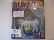 Theme Park Mystery Amiga 500/100/2000 Game Factory Sealed Konami 1990