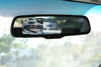 Replacement Rear View Mirror With 3.5 Lcd Display For Back Up Camera