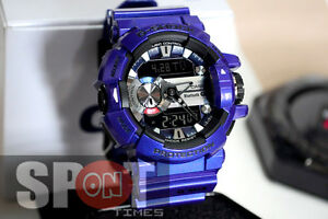 super popular c5079 a3dc1 Details about Casio G-Shock G'MIX Bluetooth Smart Men's Watch GBA-400-2A