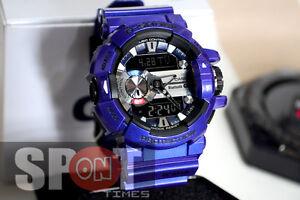 super popular 20141 d95bc Details about Casio G-Shock G'MIX Bluetooth Smart Men's Watch GBA-400-2A