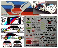 #132 BMW M3 E30 Macau 1991 Kwan EKS-Schnitzer Decal 1/24 für Fujimi no Studio 27