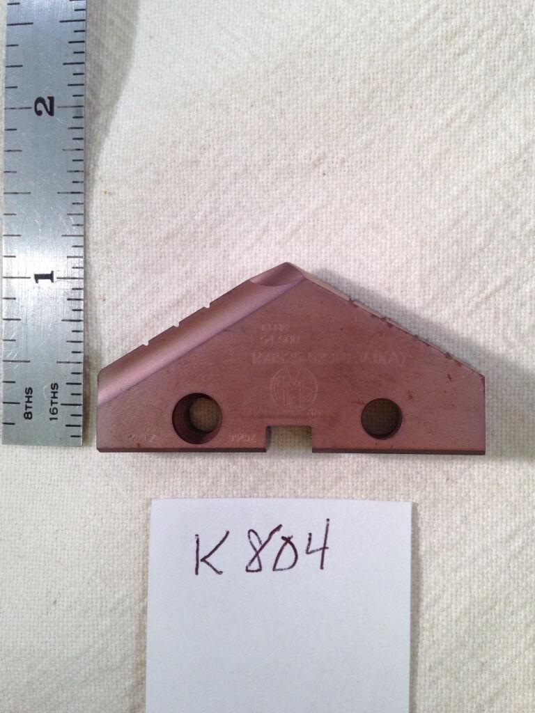 """1 NEW 1.7323/"""" 44mm ALLIED SPADE DRILL INSERT BIT AMEC 453N-44-HR  TICN USA"""
