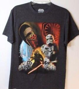 Mens Finn /& REY Star Wars Episode 7 The Force Awakens T-SHIRT S-XLARGE