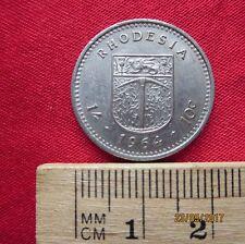 Rhodesia - 1 Schilling / 10 Cents 1964  - I