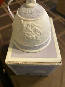 1993 Lladro Christmas Bell Ornament - Porcelain - In Original Box