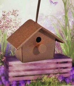 Miniature Fairy Garden Dollhouse Rustic Birdcage 3 tall x 1 wide Metal