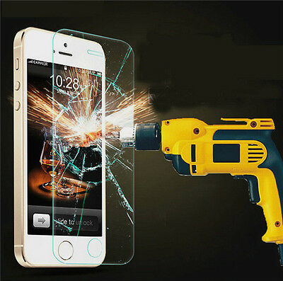 100%Genuine Tempered Glass Film Screen Protector for Apple iPhone 4/5/6/Plus New