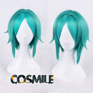 Anime Houseki no Kuni Phosphophyllite Green Gradient Fans Cosplay Costume Wig