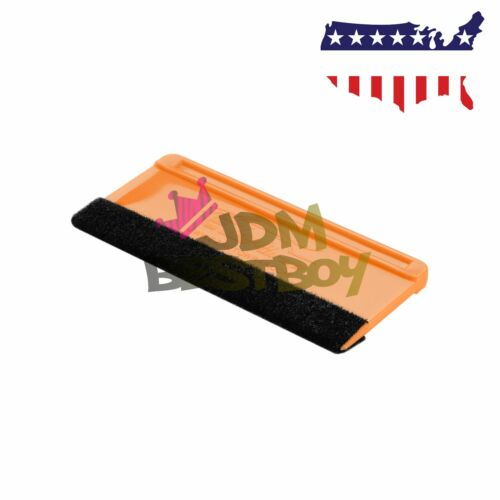 5x Mini Felt Edge Squeegee Scraper Vinyl Wrap Decal Sticker Application Car Tool