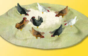 Viessmann-Operating-Pecking-Chickens-1528-HO-Scale-Free-Shipping